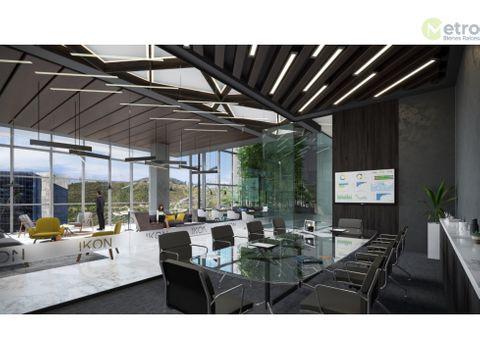 oficinas aaa en preventa zona valle oriente de 134m2 alf