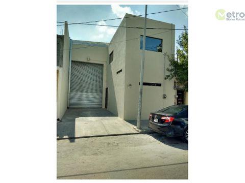 bodega en renta area mitras 160 m 2 entrada ptrailer oficinas