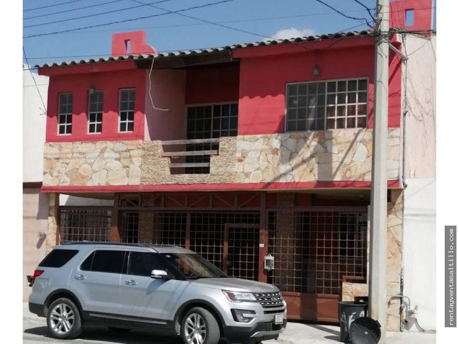 venta casa ramos arizpe las haciendas iii
