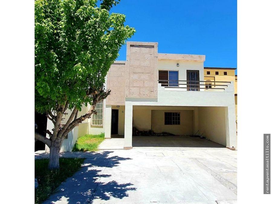 ventarenta casa privada las magnolias saltillo 3140000