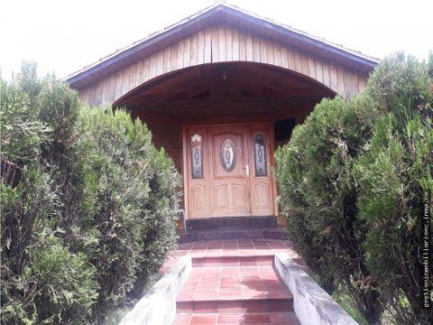 vendo casa la carriona el valle ruminahui