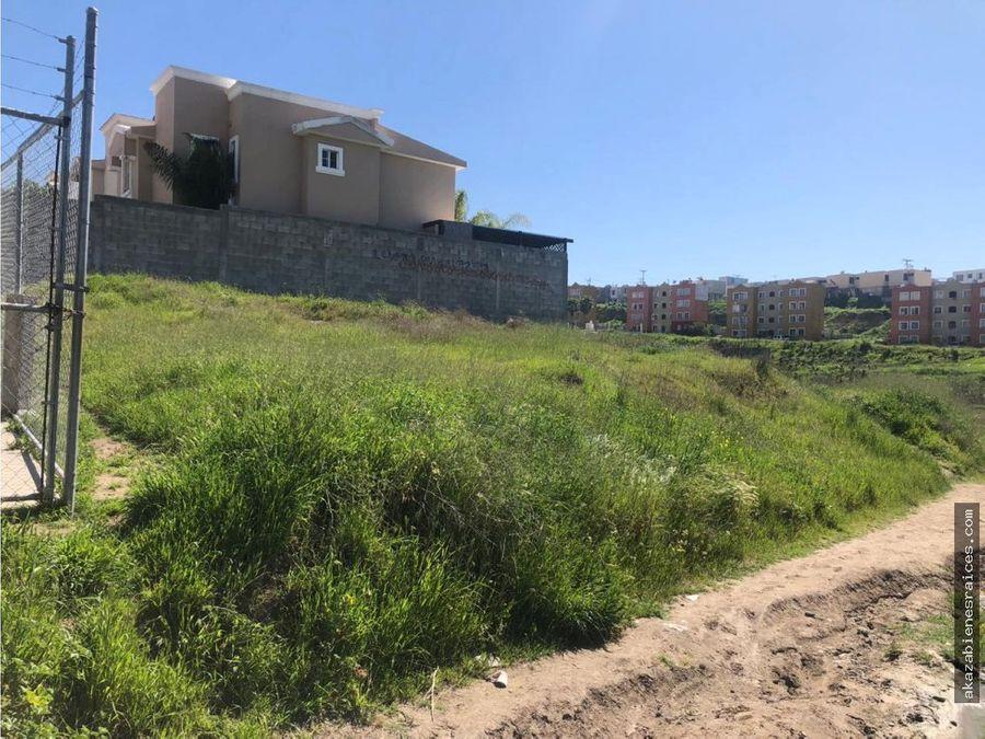 venta de terreno en privada en santa fe tijuana