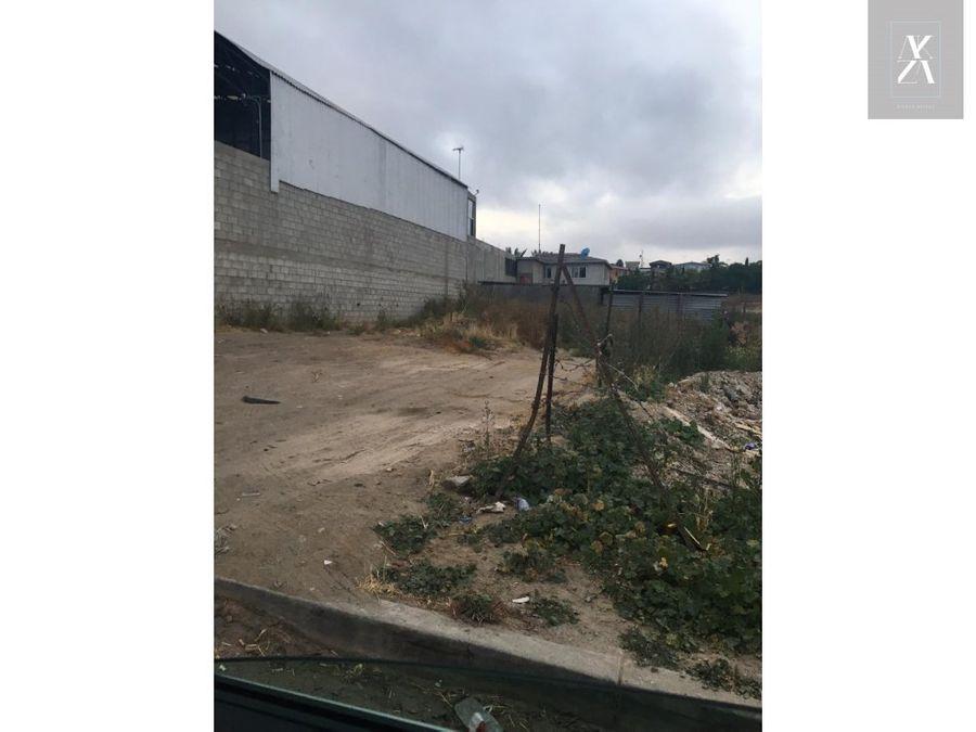 terreno en venta en rosarito cerca bulevar benito juarez