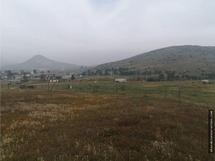 venta de terreno campestre en ojo de agua tijuana tecate