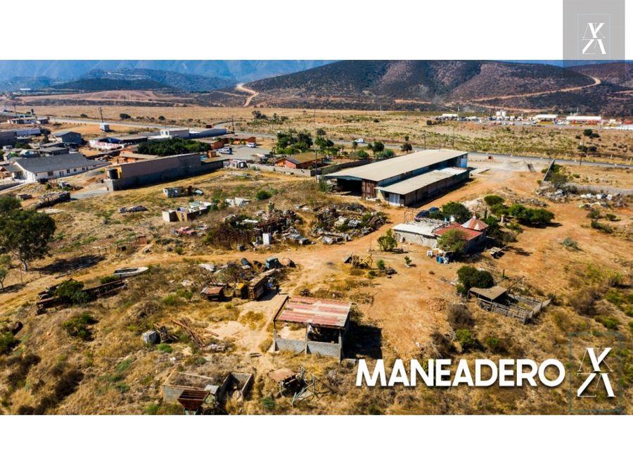 venta de 16 hectareas en maneadero