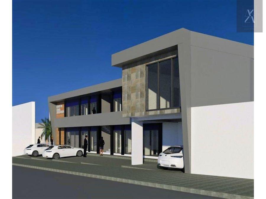 venta de edificio con locales comerciales plaza san antonio
