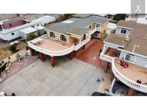 casa de playa en rosarito 630m2 terreno