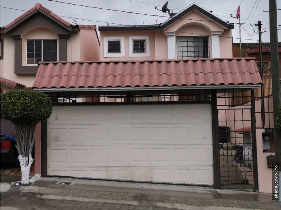 venta de casa en privada la esmeralda tijuana