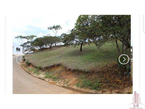 lote en venta condominio sun village jamundi