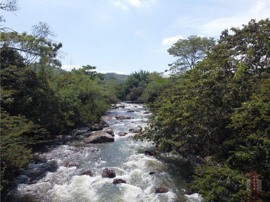 lote en venta rio claro jamundi