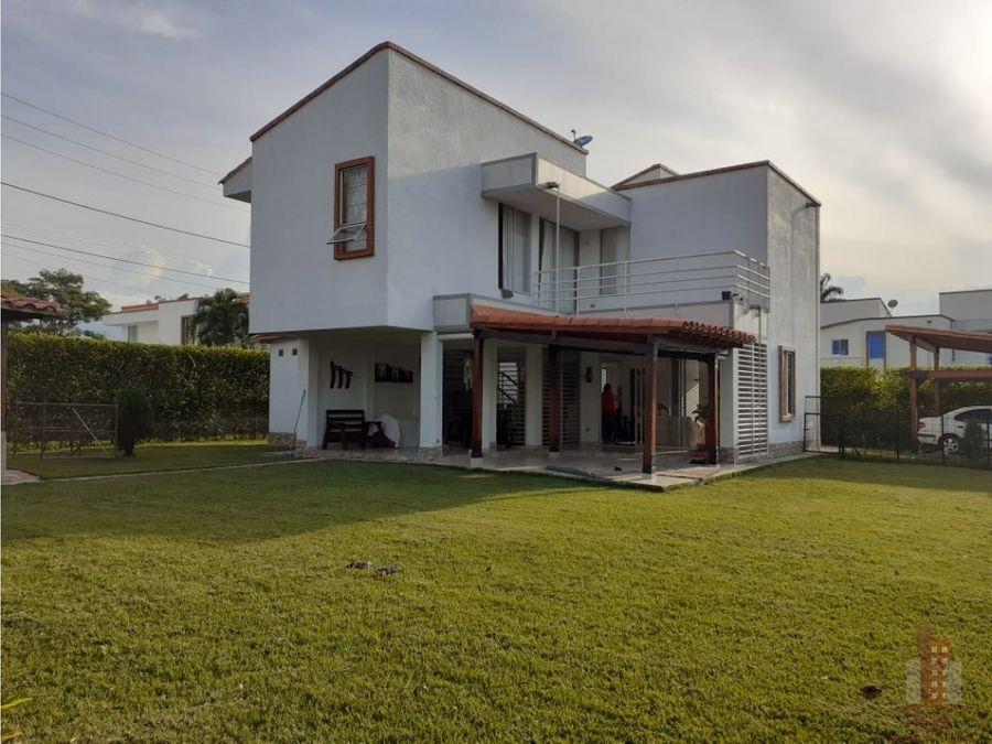 casa en venta cond club de campo la morada jamundi