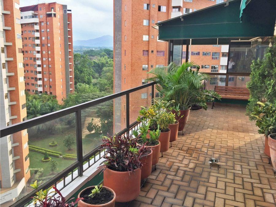 penthouse en venta ciudad jardin sur cali