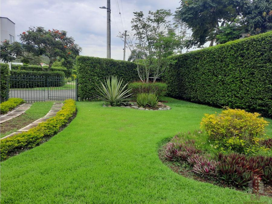 casa campestre en venta condominio verde horizonte rural jamundi