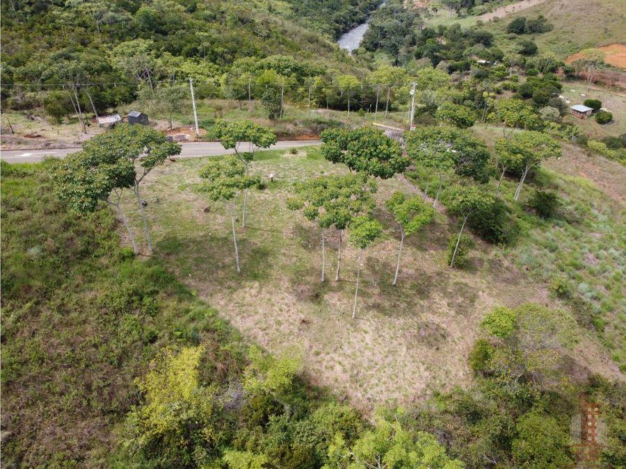 lote en venta parcelacion reserva de rio claro jamundi