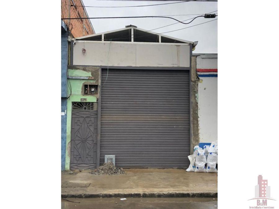 bodega en venta obrero centro cali