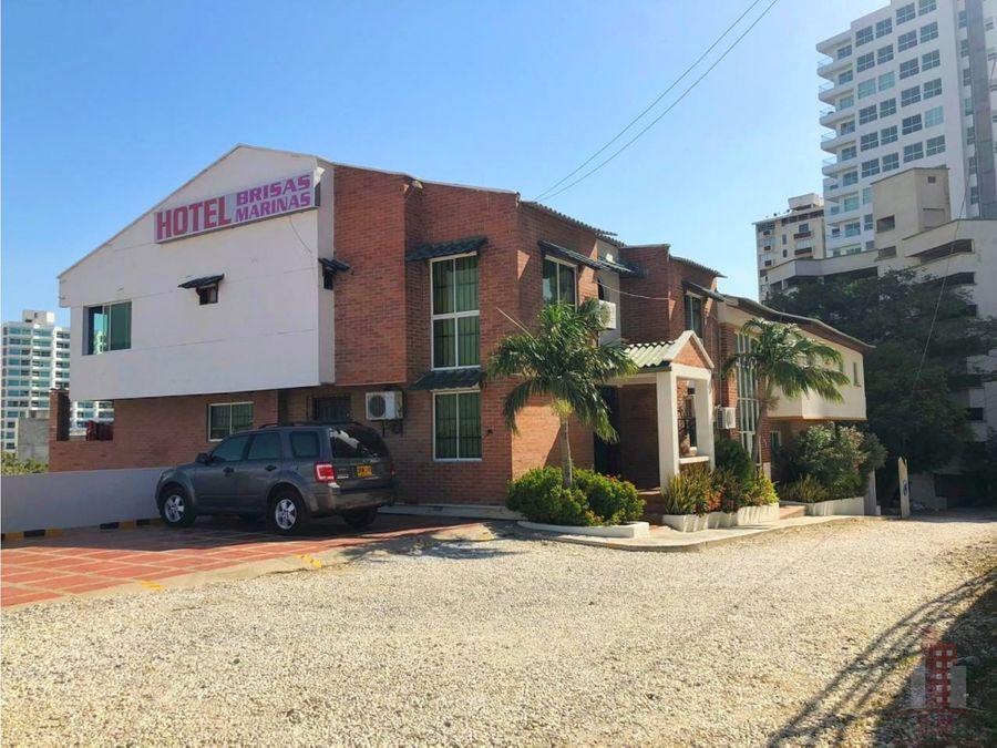 hotel en venta los rodaderos sur santa marta