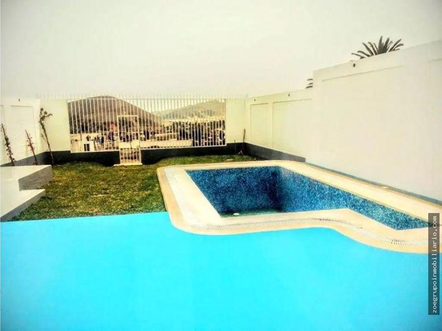 vendo casa de estreno con piscina en santa rosa