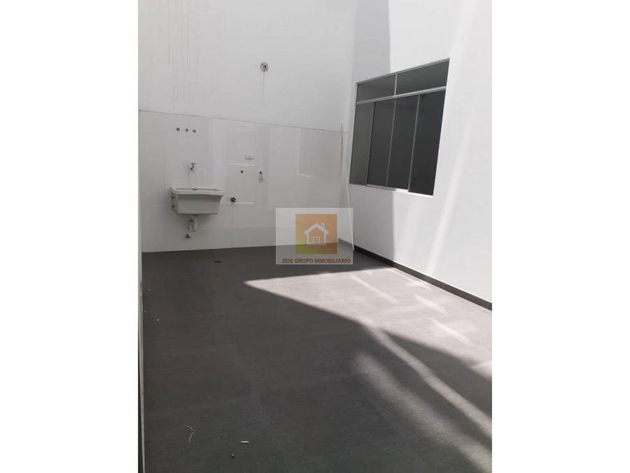 vendo dpto de estreno primer piso en san miguel