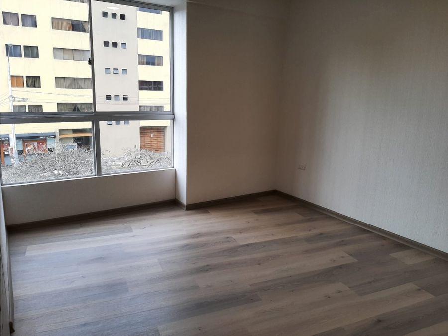 vendo exclusivo dpto de estreno en segundo piso en san miguel