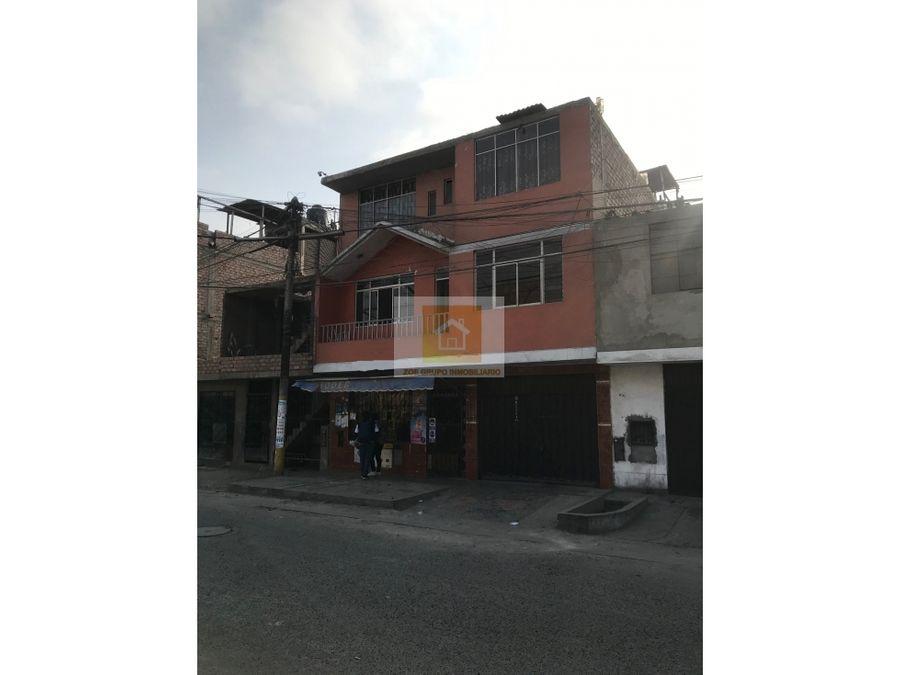 vendo casa de 3 pisos en comas