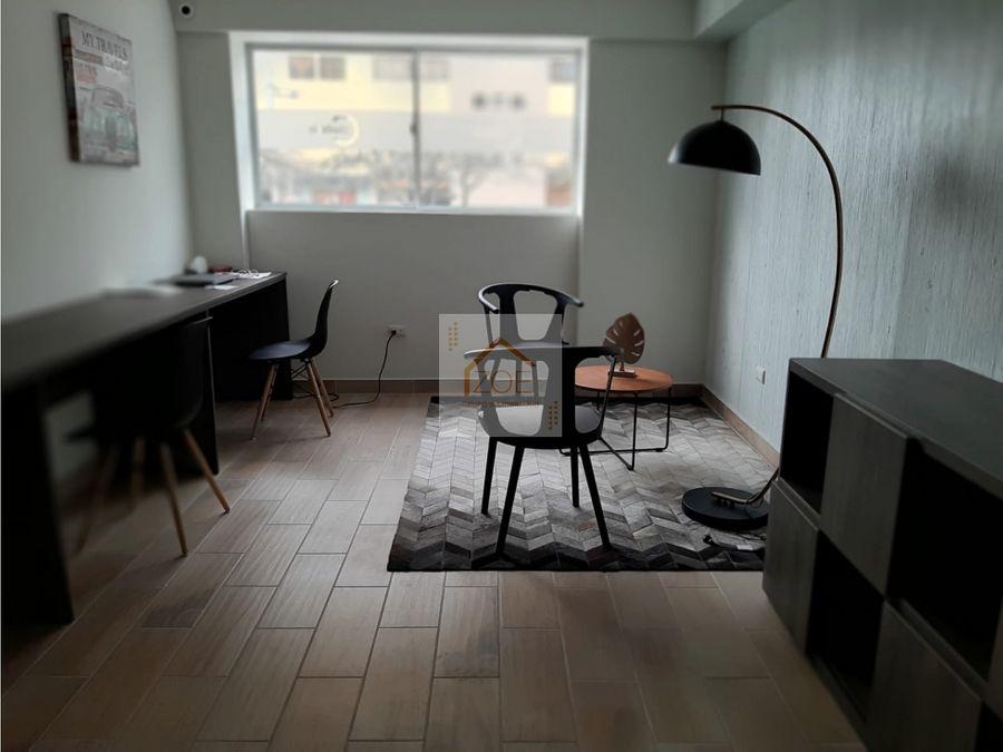 vendo exclusivo dpto tercer piso en san miguel