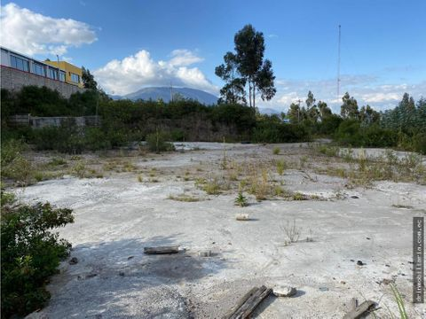 terreno zona industrial carcelen eloy alfaro