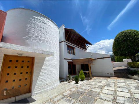 oportunidad venta casa cumbaya santa ines terreno 2000 m2