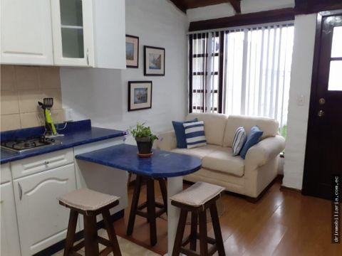rento suite amoblada en san juan cumbaya
