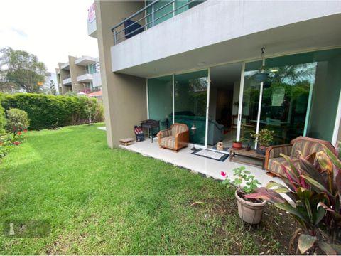 venta departamento 2 dormitorios tumbaco jardin