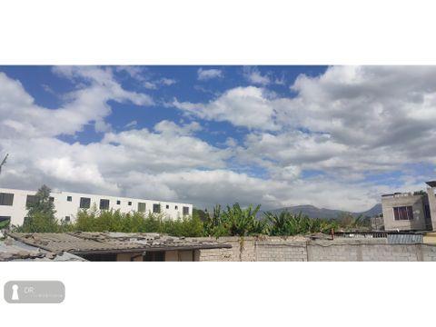vendo terreno 320 m2 la morita tumbaco