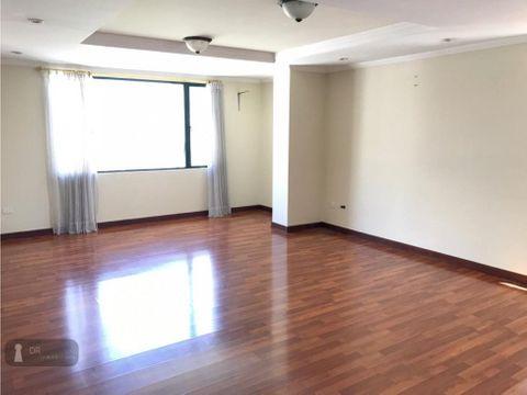 arriendo departamento sector quicentro 2 dorm 100 m2