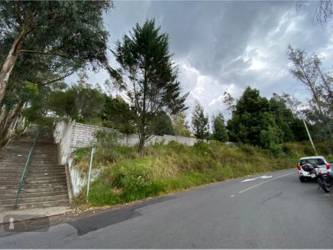 venta terreno san juan de cumbaya 5000 m2