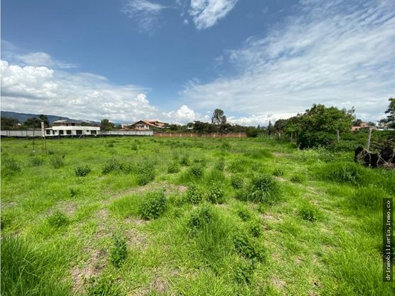 venta terreno en tumbaco 2000 m2
