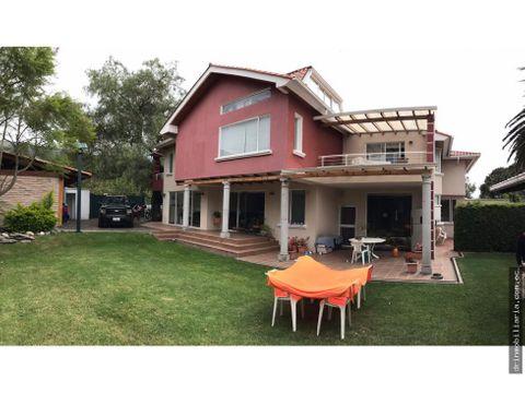 vendo casa cumbaya lumbisi 550 m2