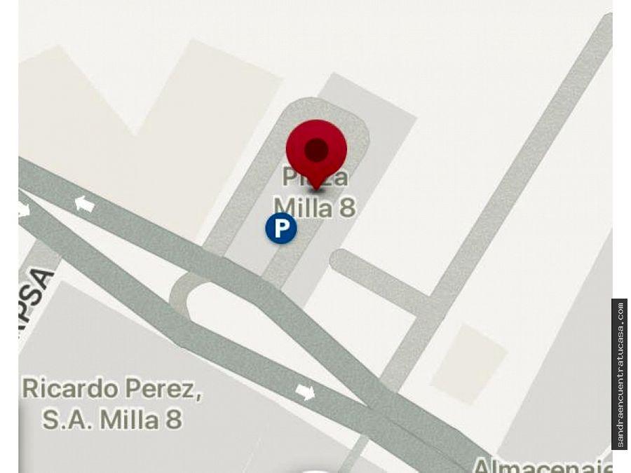 local bodega en milla 8 160 mtrs nueva forma esquina