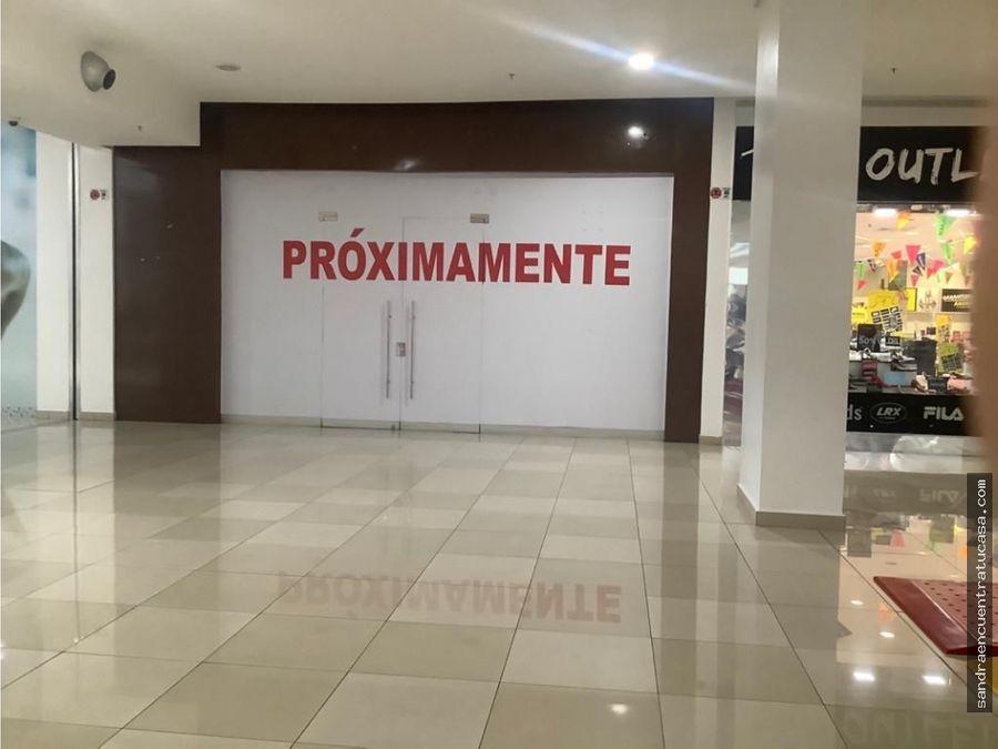 se alquila local comercial en los andes mall 70 m2 1200