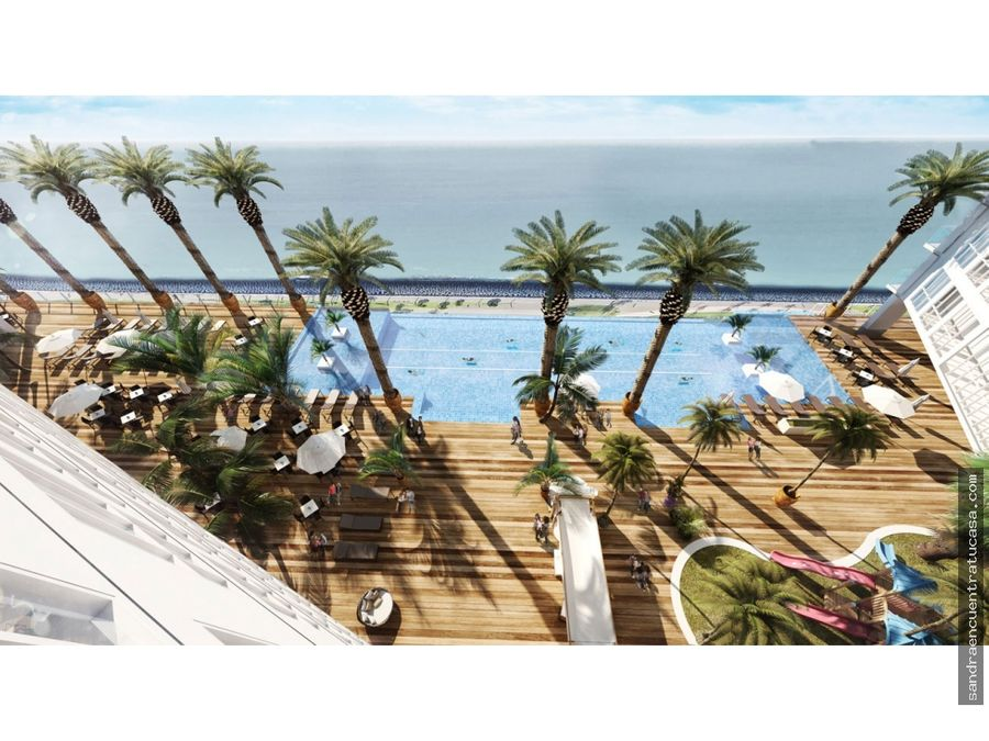 sky lounge rooftop en venta en el the sands apartments mall