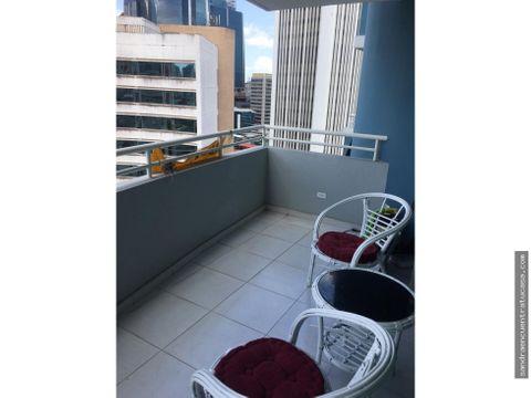 alquilo amoblado 1 recamara marbella con balcon