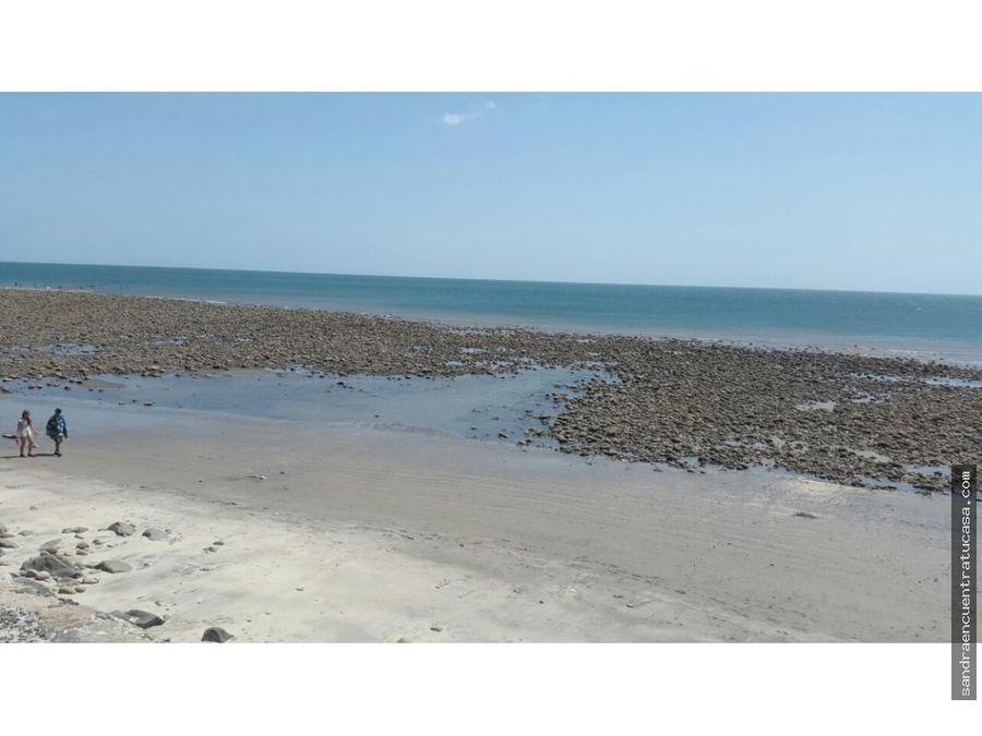 casa venta en el palmar de san carlos frente del mar con playa