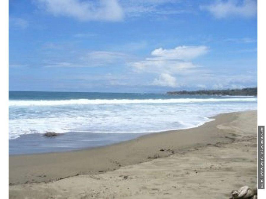 hermosa hacienda con playa en pedasi