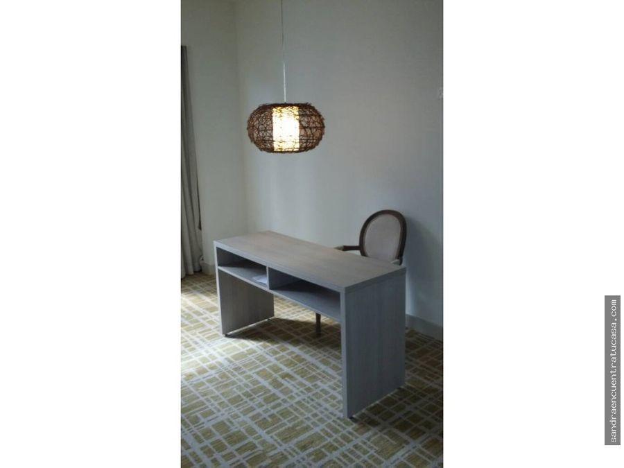 apartamento amoblado 1 recamara waldorf marbella de lujo