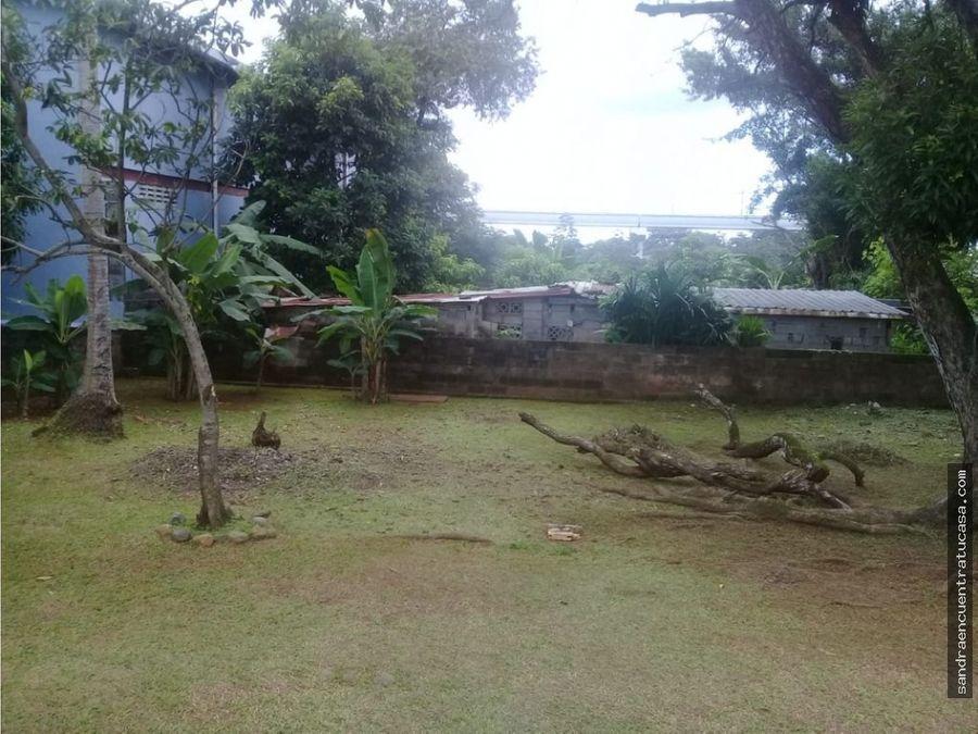casa con terreno en venta via tocumen