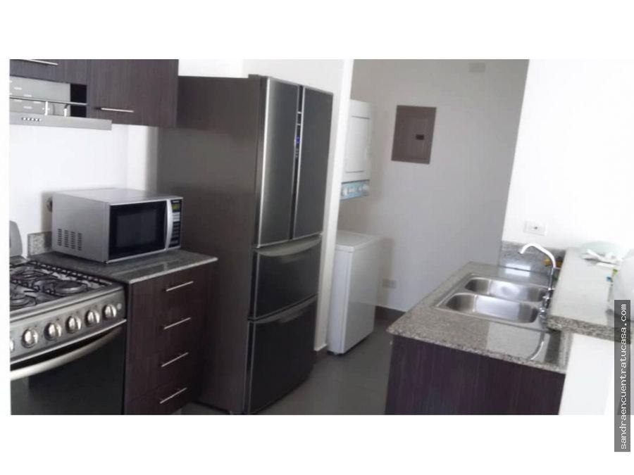 apartamento colores de bellavista de 2 recamaras amoblado 84mrs