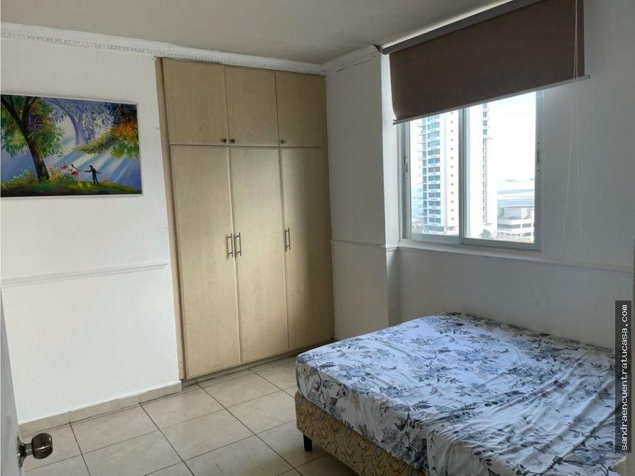apartamento en alquiler amoblado ph aquazul av balboa