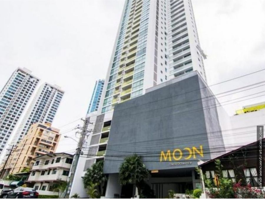 se alquila apartamento en ph moon tower con linea blanca