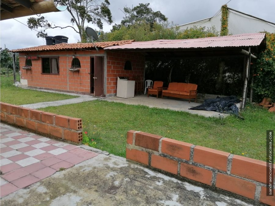 casa campestre para inversion o paseo en guarne