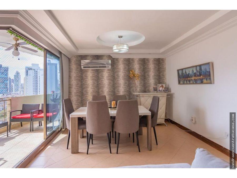 hermoso apartamento en ph atrium el cangrejo