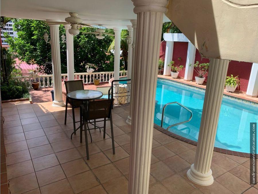en venta casa con piscina el dorado 4 recamaras