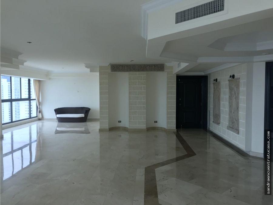 apartamento en ocean park alquiler o venta 260mtrs piso alto