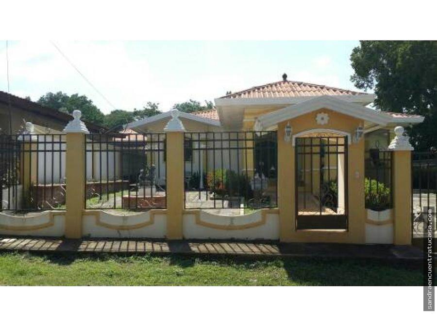 venta de hermosa casa en chitre